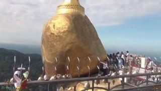 Kyaik Ti Yo (Golden Rock) Pagoda,Myanmar