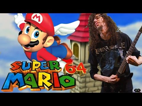 Super Mario 64 Wing Cap Theme - Metal Cover || ToxicxEternity