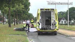 Bromfietsster gewond na ongeval op n377 Nieuwleusen
