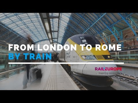 From London To Rome By Train