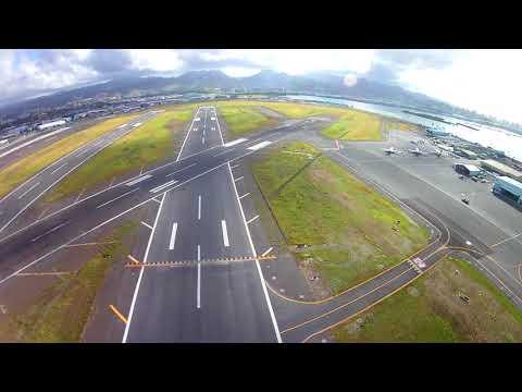 Oahu, Hawaii, Full Flight, External Cam, 6 October 2017, Cessna 172