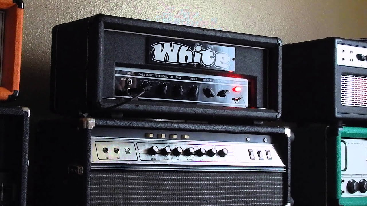 Trying out the `White` amp