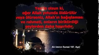 Al-i imran suresi Türkçe meal 154, 155, 156 ve 157, ayetler