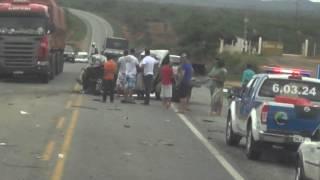 Acidente no Morro do Chapéu BA-052  25/11/2012