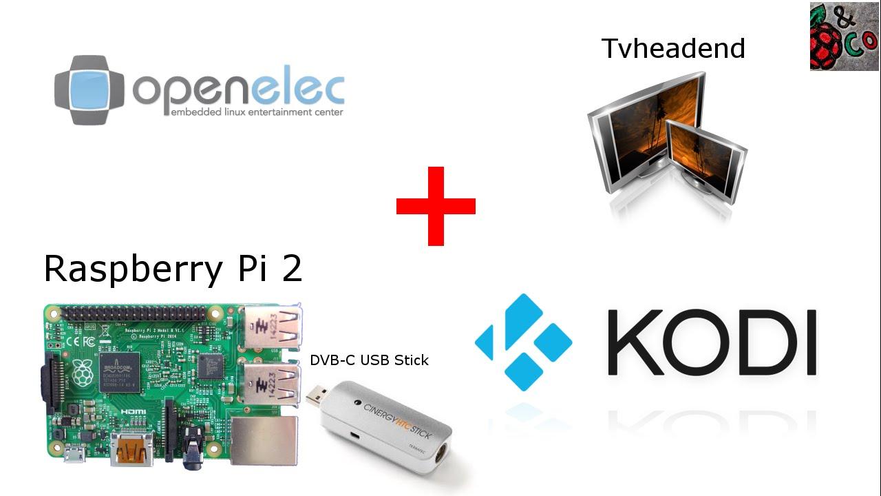 Raspberry Pi 2 + OpenELEC (Kodi) + Tvheadend [deutsch] - YouTube