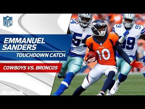 Explosive Catch & Run by Emmanuel Sanders & TD Grab! | Cowboys vs. Broncos | NFL Wk 2 Highlights