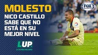 Nicolás Castillo explica por qué salió enojado del América vs. Chivas