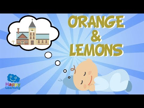 Orange and Lemons | Songs for learning English.
