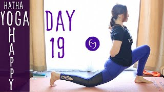 Day 19 Hatha Yoga Happiness: Check it off of your 'to do