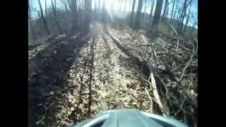 Mountain Biking Trace Ridge in Pisgah Forest