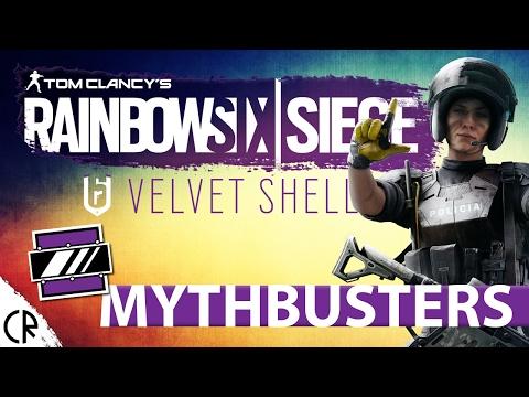 Busting Mira - Velvet Shell - Mythbusters - Rainbow Six Siege - Epi 28 - R6