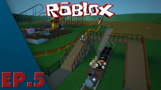 Roblox - Episode 5 Theme Park Tycoon 2 - Steam Train / EN