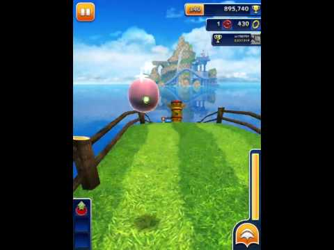 [Sonic Dash] Amy Gameplay