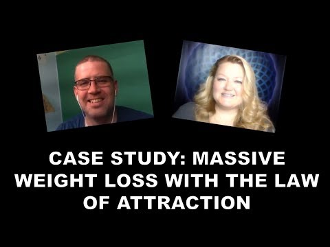 One Man's Massive Weight Loss using LOA (Case Study)