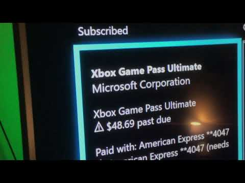 Game Pass Ultimate Subscription WARNING!