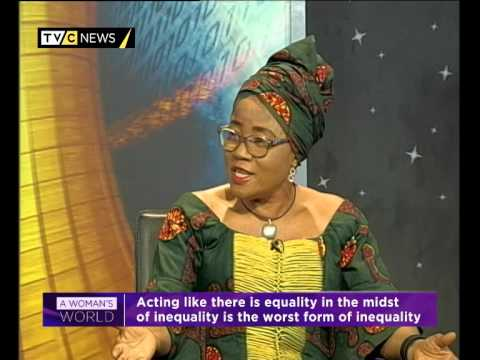 Woman's World Episode 92.... GENDER EQUALITY IN THE YEAR 2014