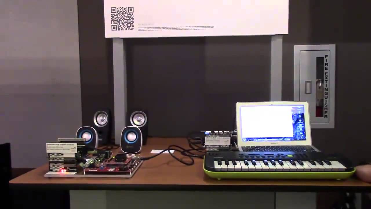 Audio Over Ethernet - Ethernet AVB System Solution - YouTube