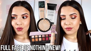 FULL FACE OF OLD FAVORITES | Get Ready With Me Using Nothing New | Jackie Ann