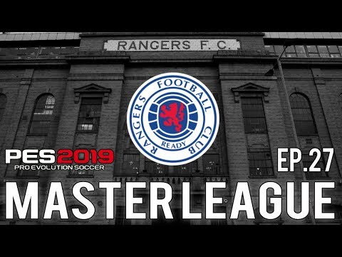 PES 2019 | Glasgow Rangers Master League | Episode 27 - Hibs & Hearts Double