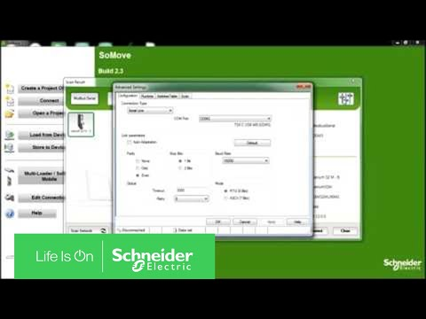Setting COM Address of USB Adapter for Use with SoMove | Schneider Electric  Support