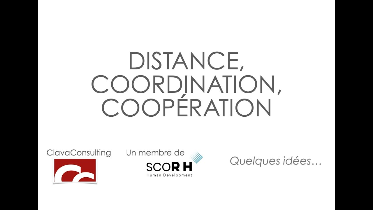 Covid, coordination vs coopération