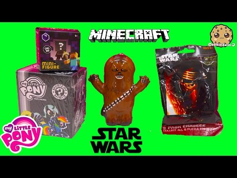 Surprise Toys - Star Wars Eraseez, Minecraft , MLP Funko My Little Pony Mystery Minis Blind Bag