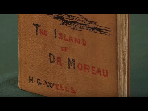 The Island of Dr Moreau, H G Wells. First Edition, 1896. Peter Harrington Rare Books