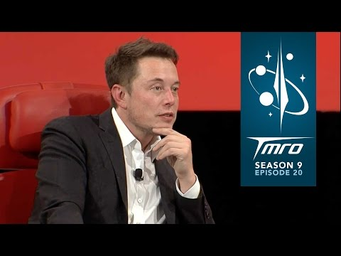 Elon Musk hinting at Mars plans - #MuskOnMars - 9.20