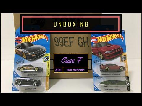 Unboxing - Hot Wheels Case F 2020
