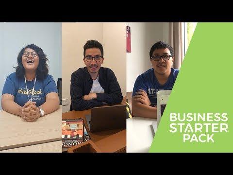 Business Starter Pack's Coaches: Dilla Anindita Purnawan, Gilang Gibranthama, & Rizky Satrio Nugroho