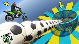 GTA 5 ONLINE 🐷 MEGA RAMPA DI PALLONI !!! 🐷 GARE PARKOUR 🐷N*309🐷 GTA 5 ITA 🐷 DAJE !!!
