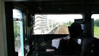 京王井の頭線の女性運転士(浜田山→富士見ヶ丘) thumbnail