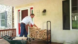 Поленница с чехлом ShelterLogic Firewood Rack®