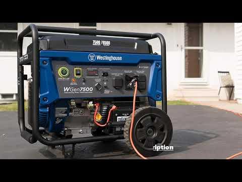Westinghouse WGen7500 Portable Generator Review 2019