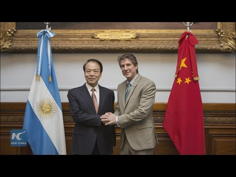Xinhua Editor-in-Chief in Argentina to beef up co-op with Senate