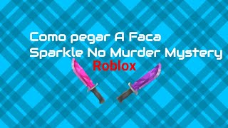 ROBLOX How to buy the Sparkle knife or Skate Hat in Murder Mystery 2