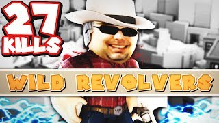 27 kills in gun game - ROBLOX Wild Revolvers
