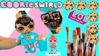 CookieSwirlC🍪 CUSTOM LOL Surprise DOLL! EASY DIY - Cookie Fan Video