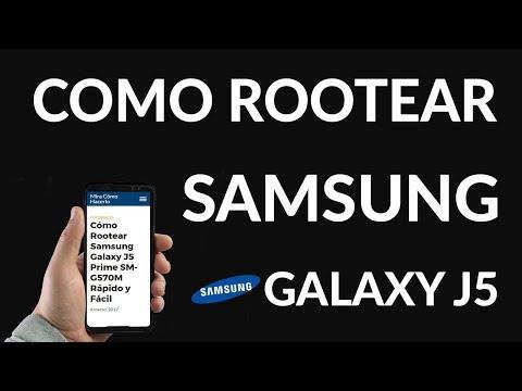 Cómo Rootear Samsung Galaxy J5 Prime SM-G570M Rápido y Fácil