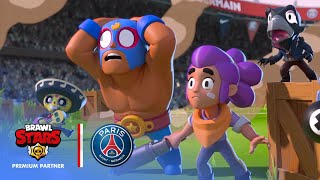 Brawl Stars Meets Paris Saint-Germain at Parc des Princes!