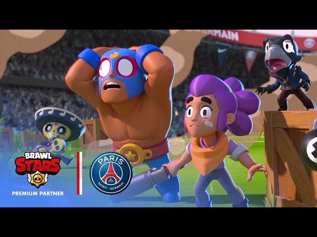 Brawl Stars Meets Paris Saint-Germain at Parc des Princes!