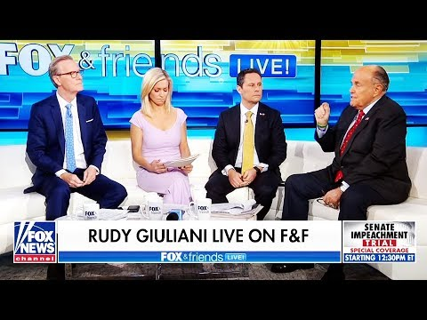 Fox News Desperately Tries to End Unhinged Giuliani Interview
