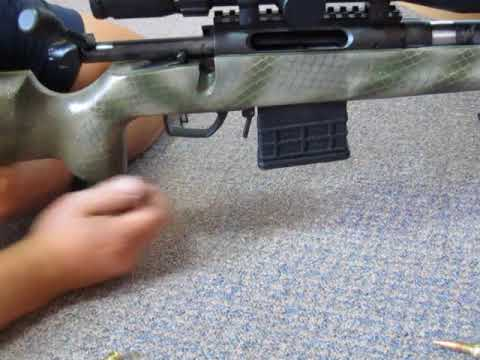 Cycling a Rem 783 in 6 5 Creedmoor Fast - AICS mags
