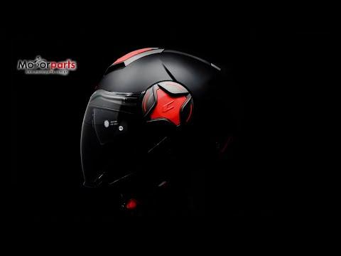 CGM 129X Illinois Sport Black Red Matt