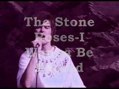 The Stone Roses-I Wanna Be Adored (with lyrics)