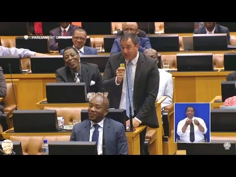 """State Capture"" The Funny Side In Parliament"