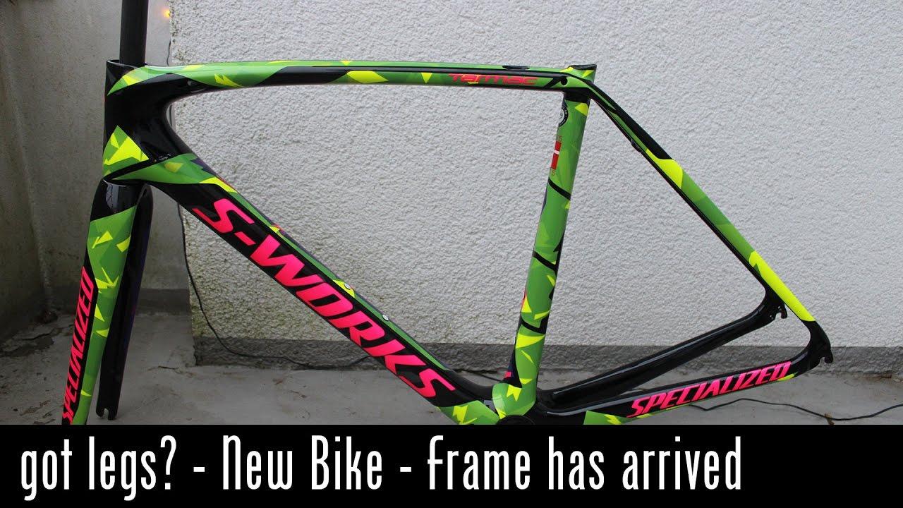 Gotlegs? - New bike - My custom painted S-Works frame has arrived ...