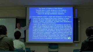 Environmental Sociology 5 (4/6): Ecological Modernization, Continued: Ulrich Beck