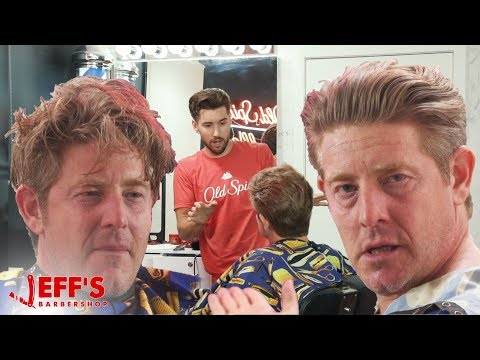 EMOTIONAL DAD GETS LIFE CHANGING HAIRCUT | JEFF's BARBERSHOP ft. Jason Nash