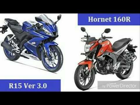 R15 vs CB Hornet 160 R full review